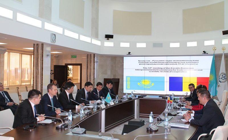 В Астане состоялось 14-ое заседание казахстанско-румынской межправительственной комиссии