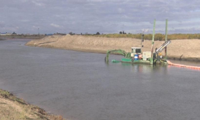 Спустя почти 40 лет в Атырауской области вновь приступили к углублению рек