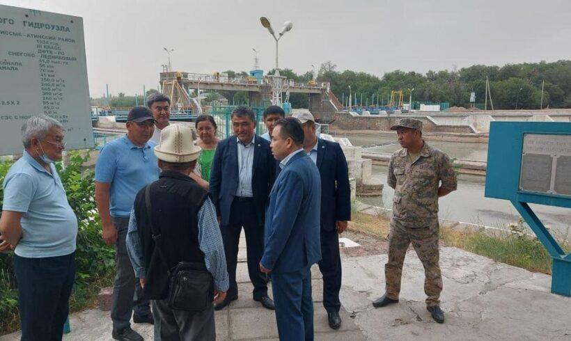 Вице-министр жұмыс сапарымен Жамбыл облысына келді