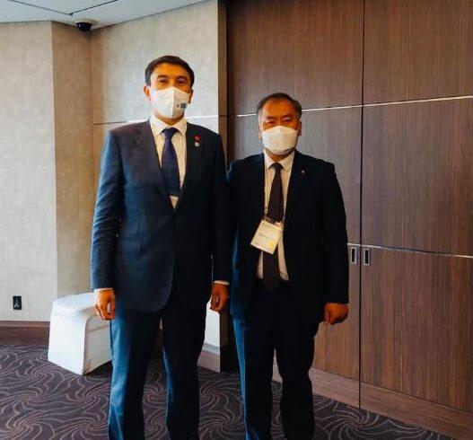 Сеул: Состоялась встреча М.Мирзагалиева с Президентом Корейской корпорации заграничной инфраструктуры и городского развития (KIND) г-ном Хо Кёнг Гу